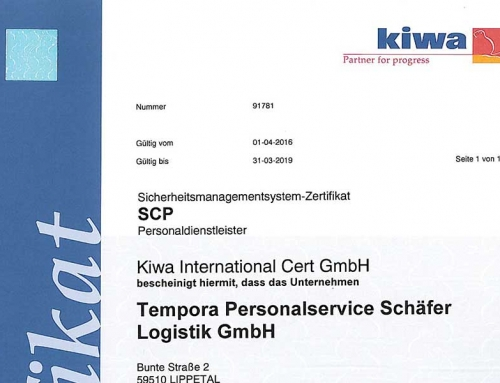 SCP-Audit erfolgreich abgeschlossen!